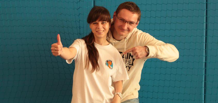 """Barwy Wolontariatu: wolontariusze z Fundacji Aktywnej Rehabilitacji """"FAR"""" – region zachodniopomorski."""